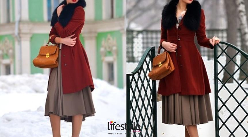 Cách chọn áo khoác nữ dáng dài hợp với từng dáng người